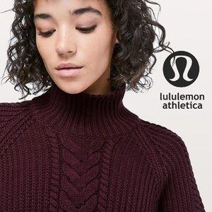 🆕 LuluLemon / Bring the Cozy Turtleneck Sweater